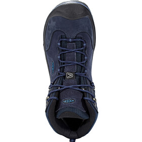 Keen Wanderer Mid WP Chaussures Homme, dark sea/night